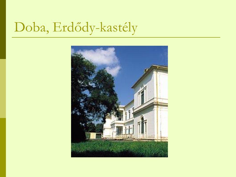 Doba, Erdődy-kastély