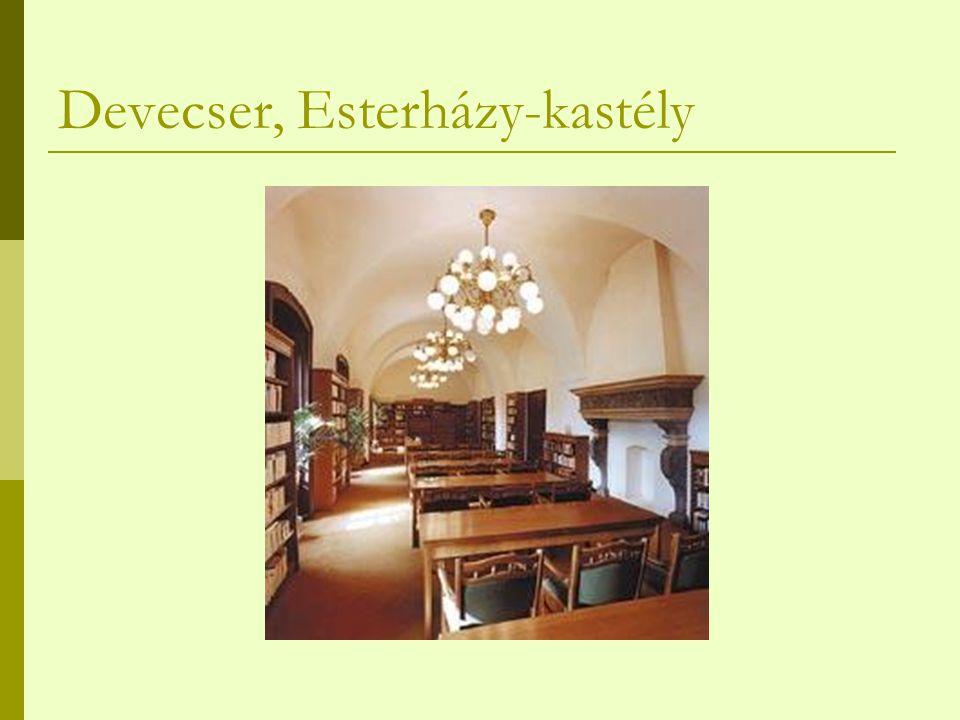 Devecser, Esterházy-kastély