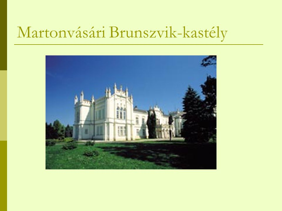 Martonvásári Brunszvik-kastély