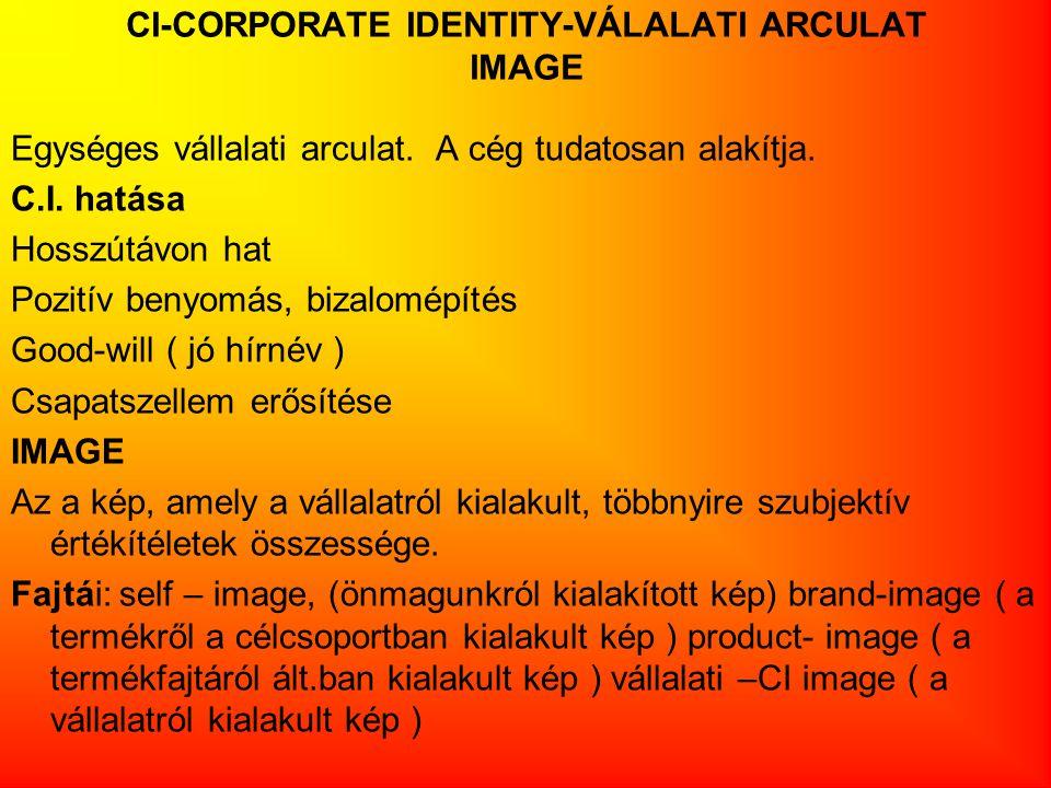 CI-CORPORATE IDENTITY-VÁLALATI ARCULAT IMAGE