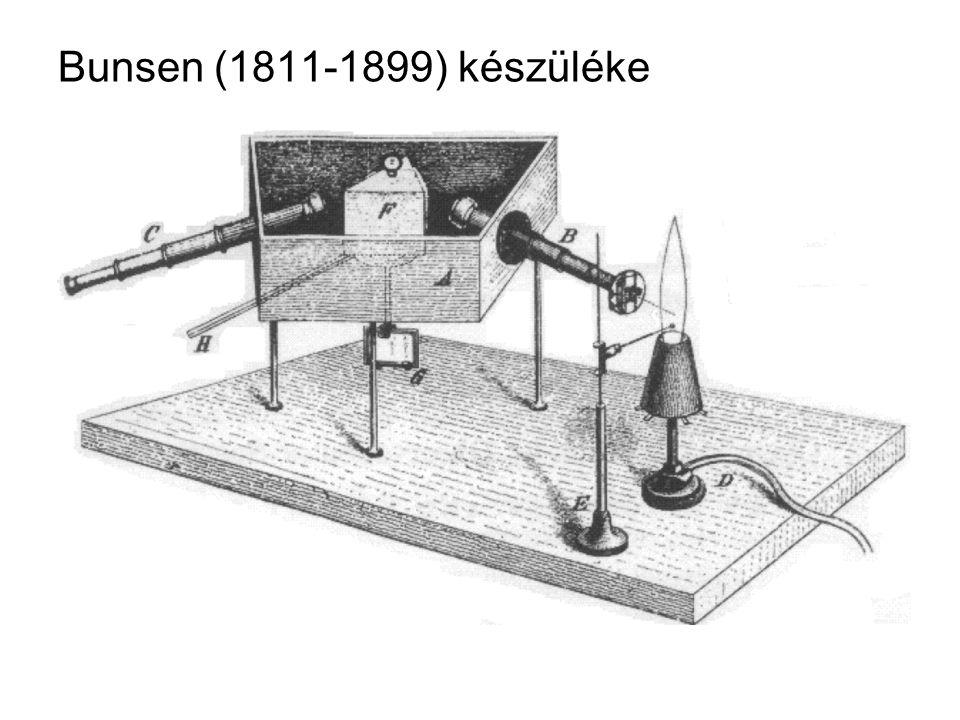 Bunsen (1811-1899) készüléke