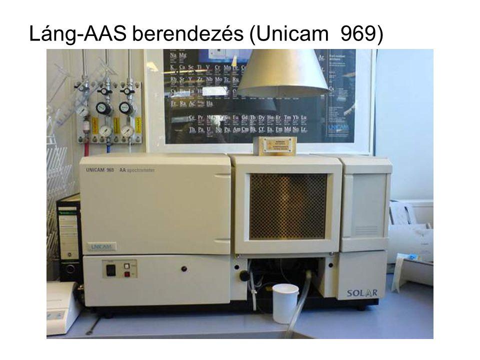 Láng-AAS berendezés (Unicam 969)