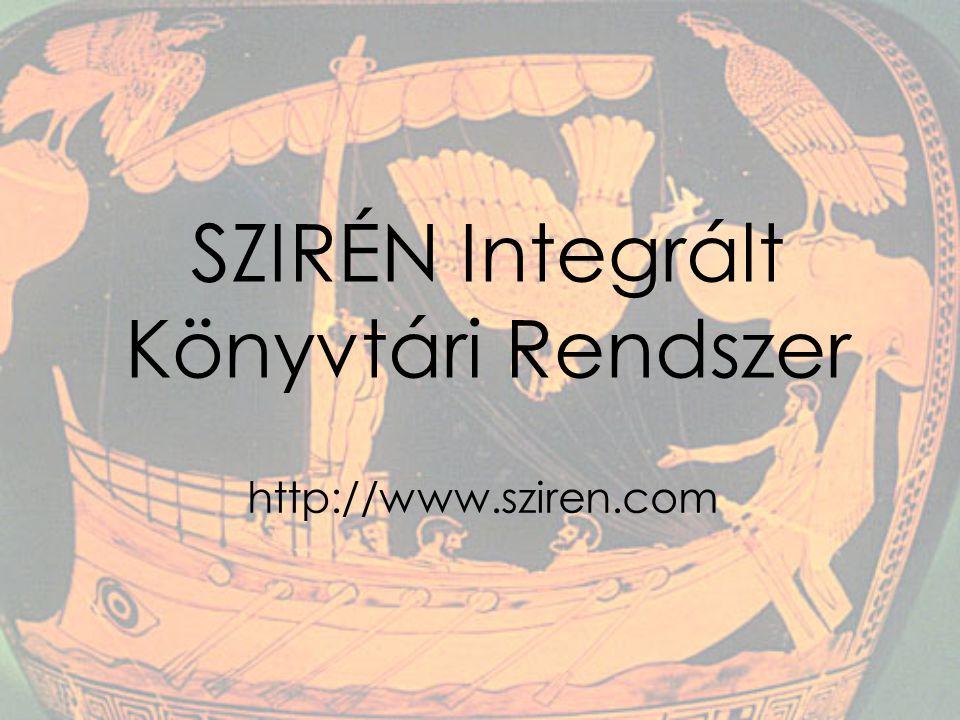 SZIRÉN Integrált Könyvtári Rendszer