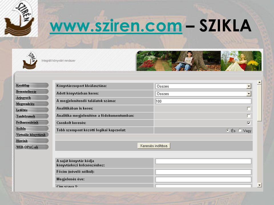 www.sziren.com – SZIKLA