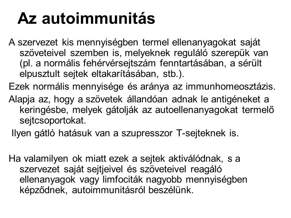 Az autoimmunitás