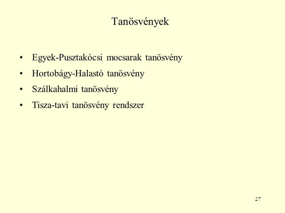 Tanösvények Egyek-Pusztakócsi mocsarak tanösvény
