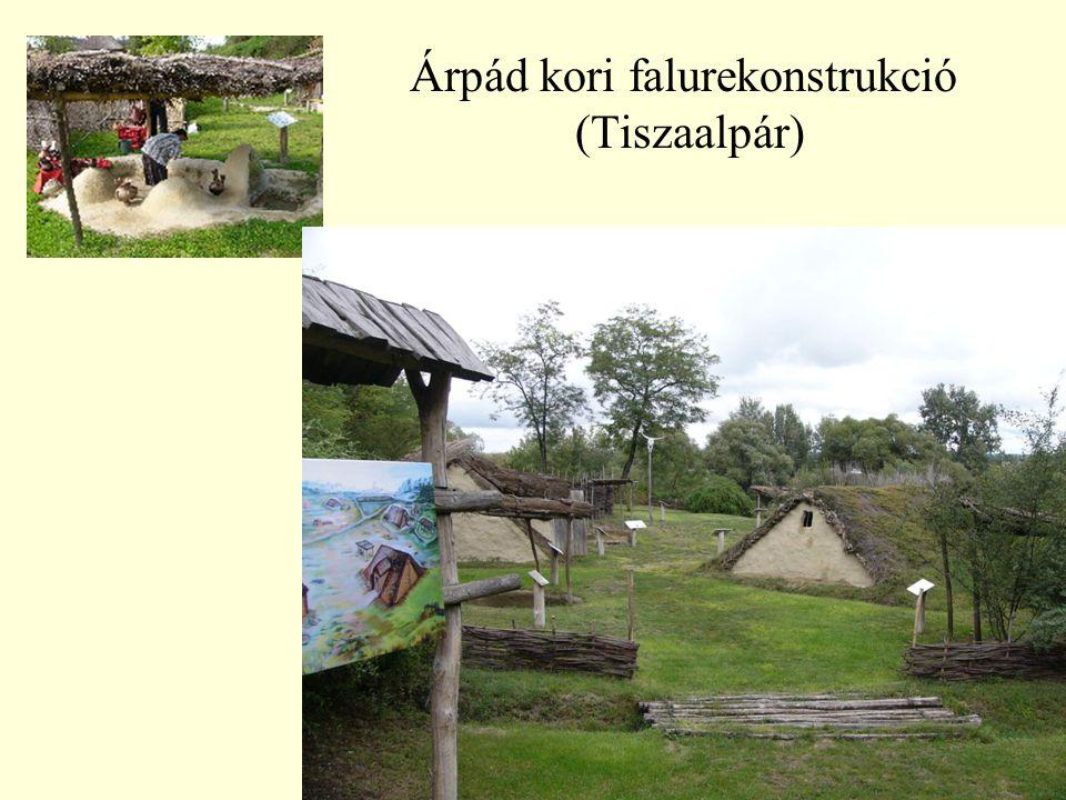 Árpád kori falurekonstrukció (Tiszaalpár)