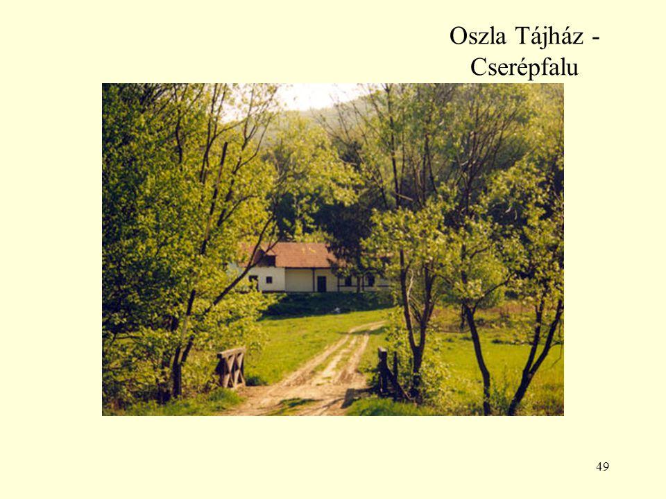 Oszla Tájház - Cserépfalu