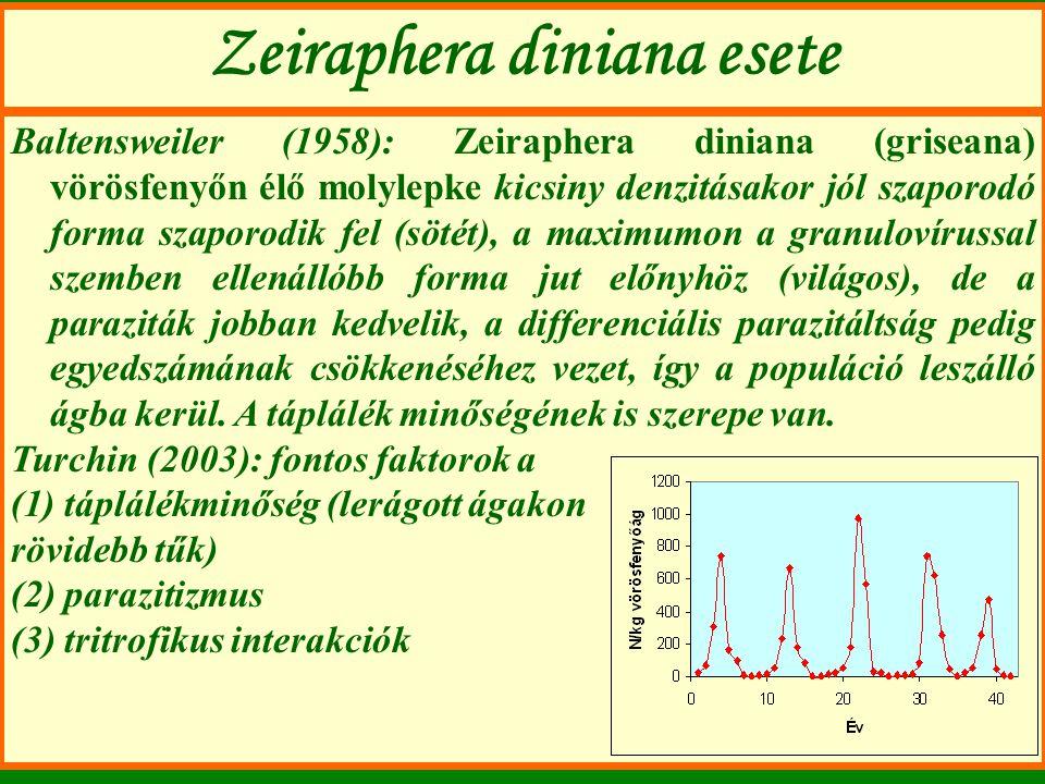 Zeiraphera diniana esete