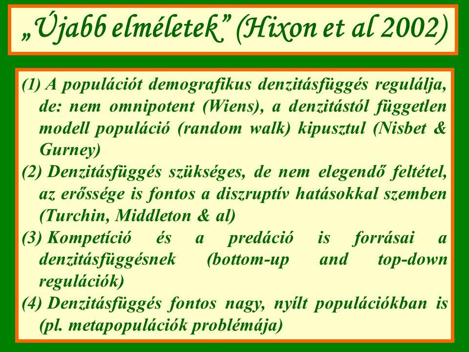 """""""Újabb elméletek (Hixon et al 2002)"""