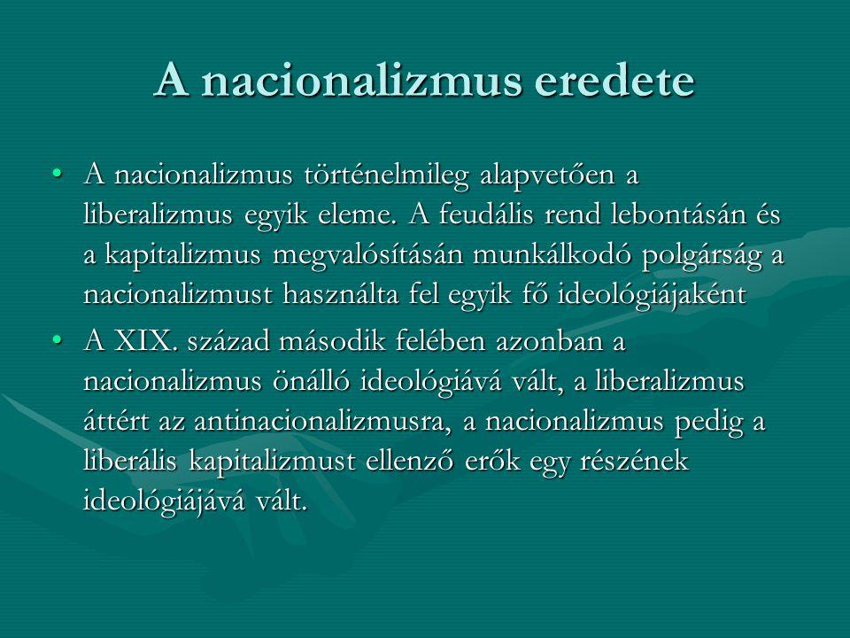 A nacionalizmus eredete