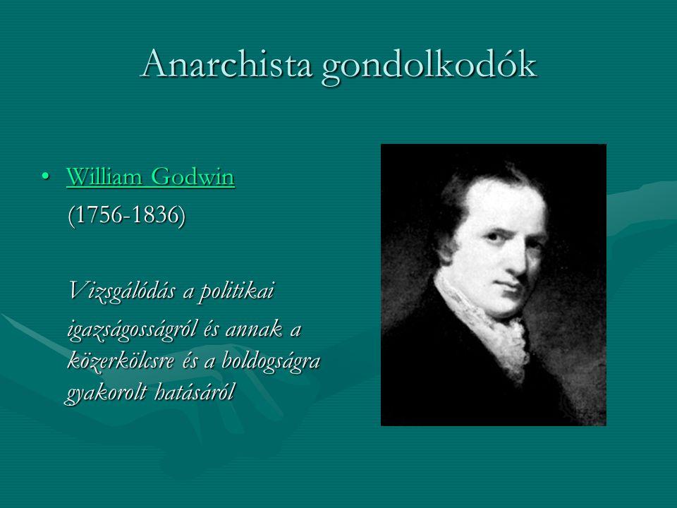Anarchista gondolkodók