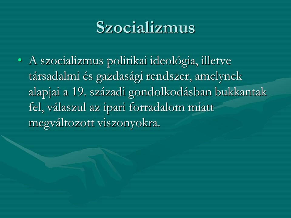 Szocializmus