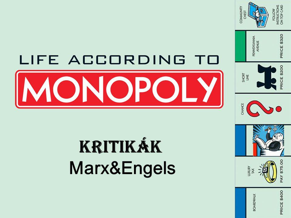 Kritikák Marx&Engels
