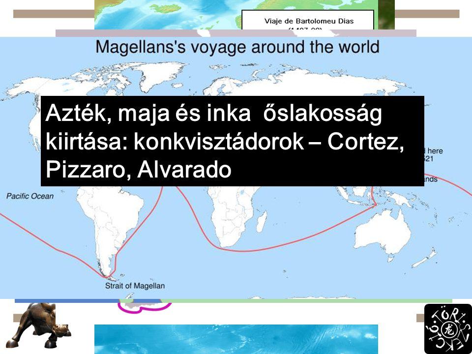 Fellendülés Szuezi-csatorna: 1869!!! XV.sz. közepe: ipar és mg. fejlődik  népesség nő  Ny-Eu para.