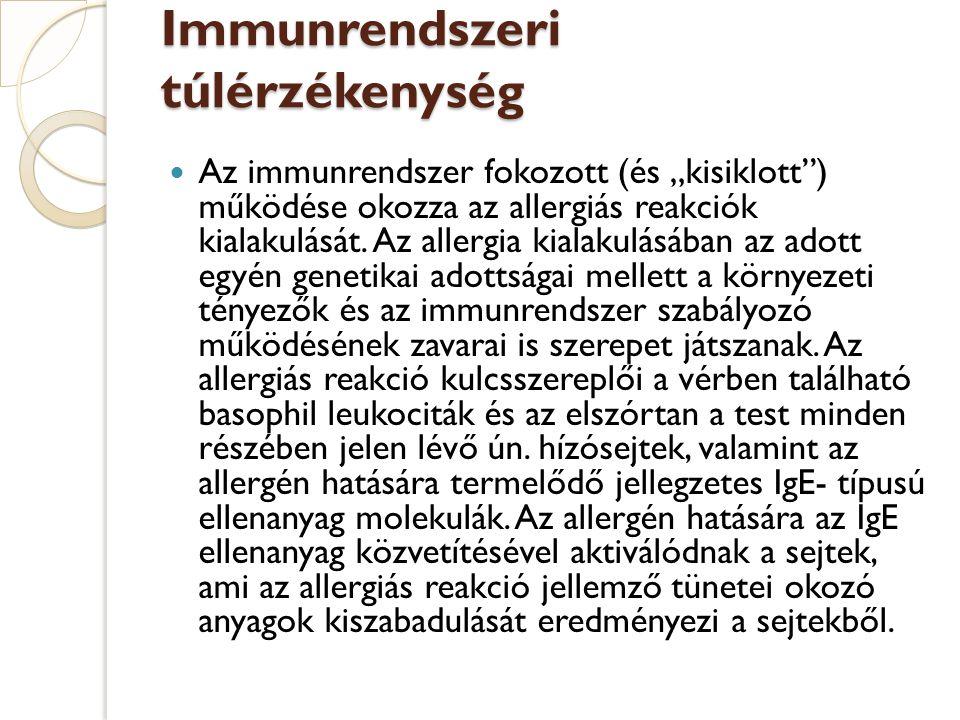 Immunrendszeri túlérzékenység