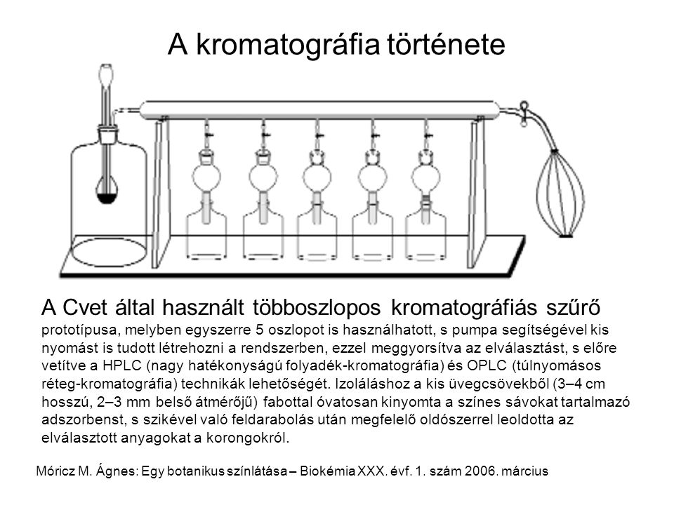 A kromatográfia története