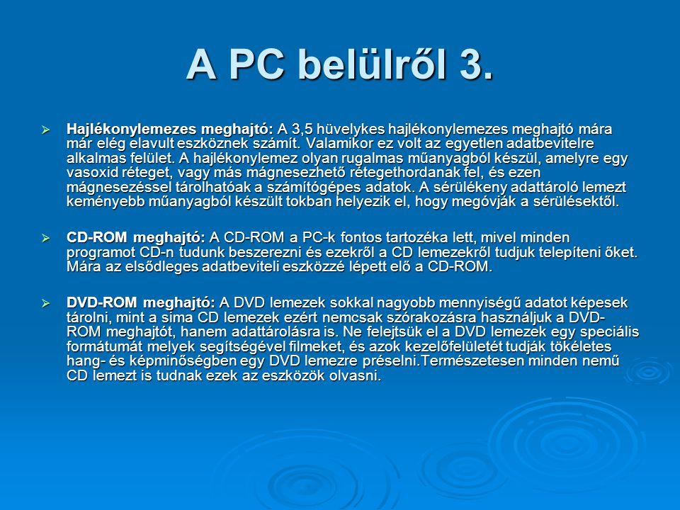 A PC belülről 3.