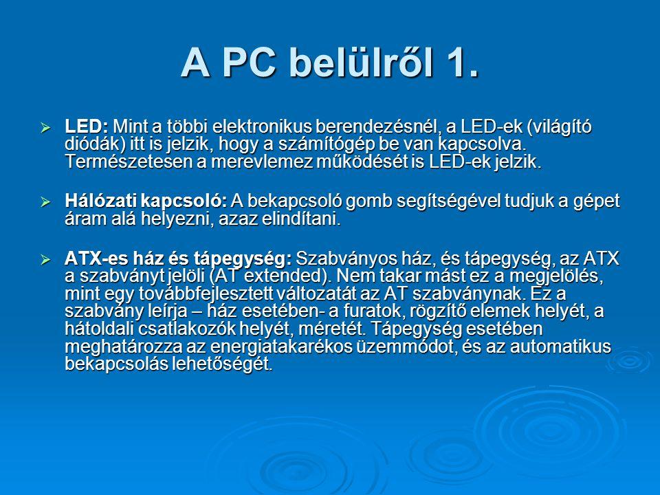 A PC belülről 1.