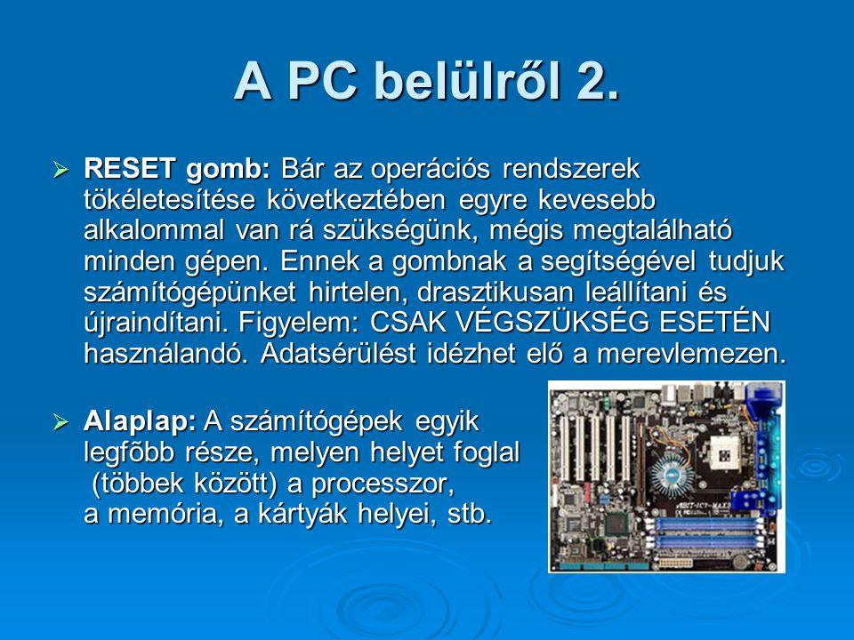A PC belülről 2.