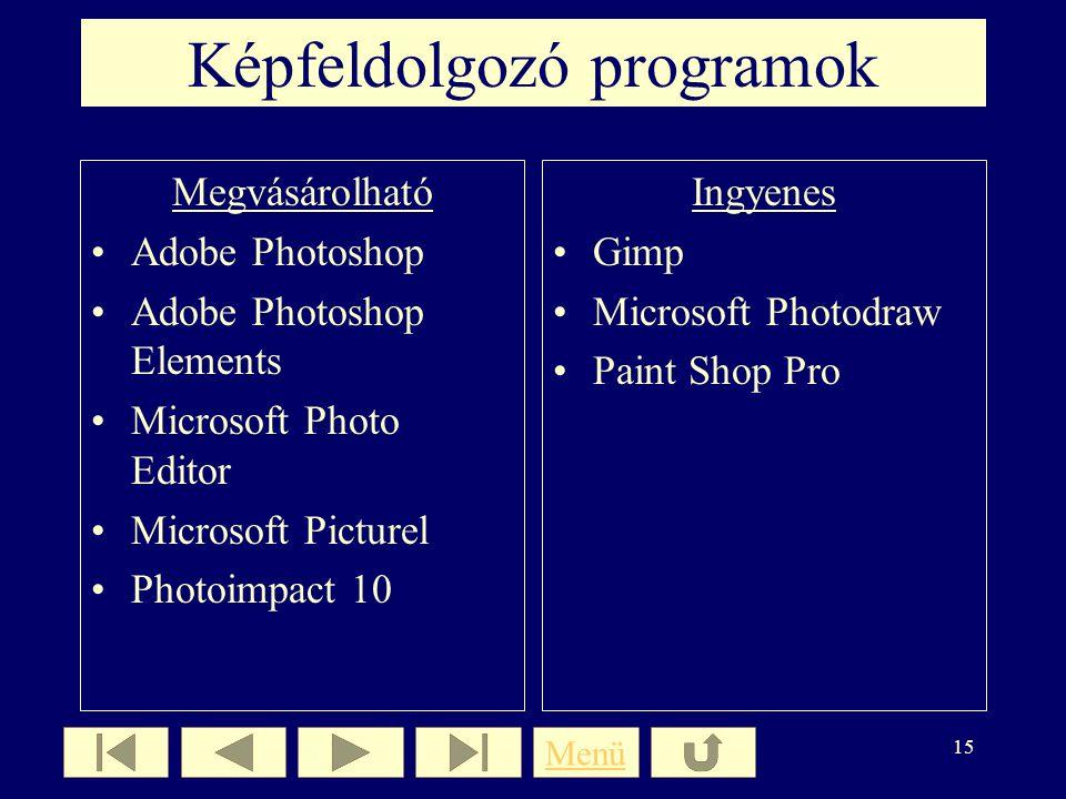 Képfeldolgozó programok