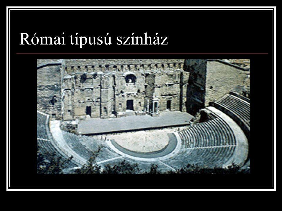 Római típusú színház
