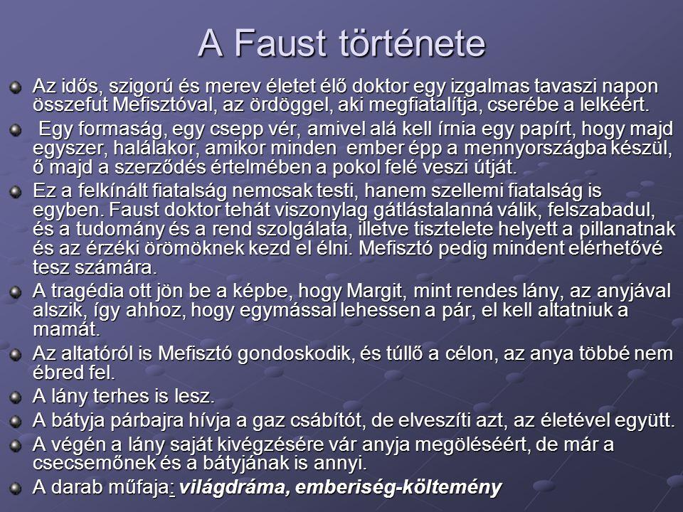 A Faust története
