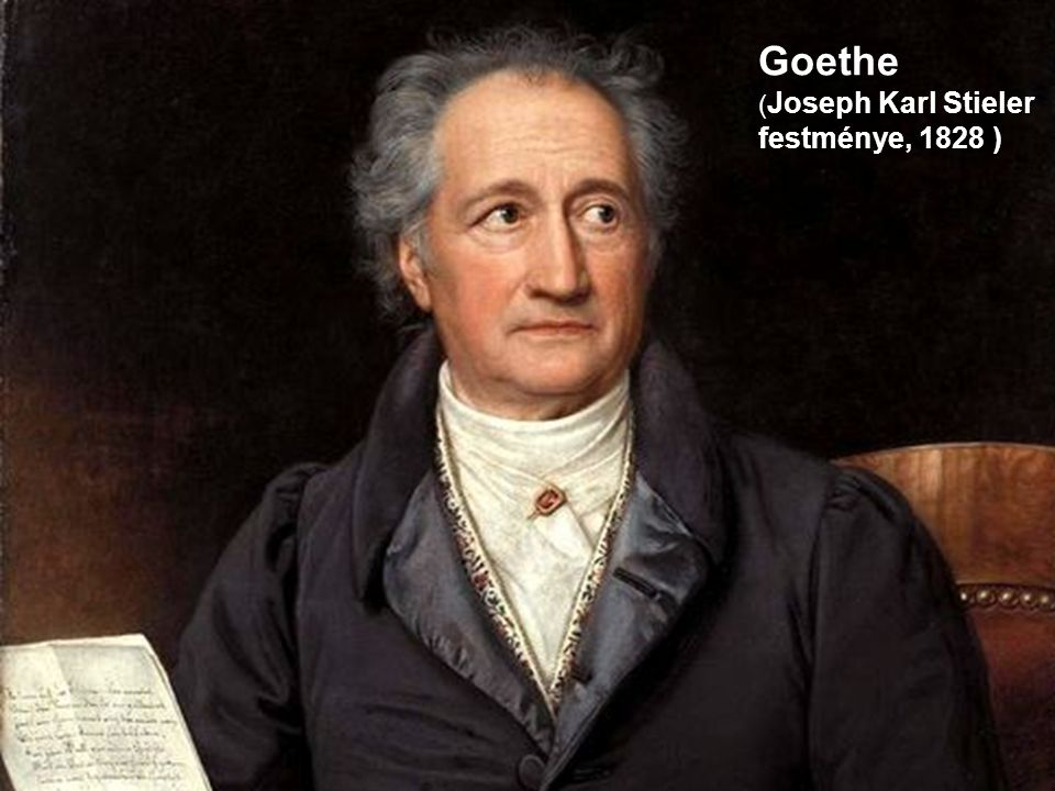 Goethe (Joseph Karl Stieler festménye, 1828 )
