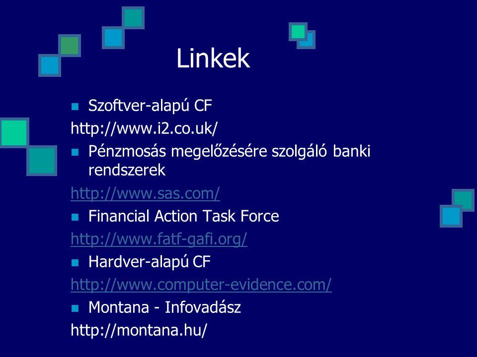 Linkek Szoftver-alapú CF http://www.i2.co.uk/