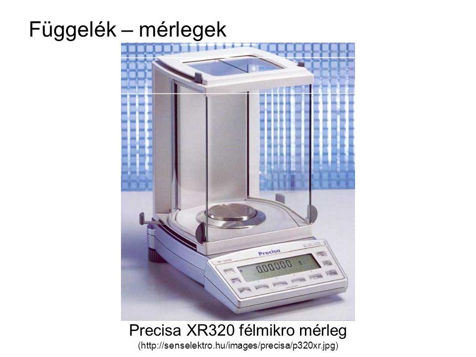 Precisa XR320 félmikro mérleg