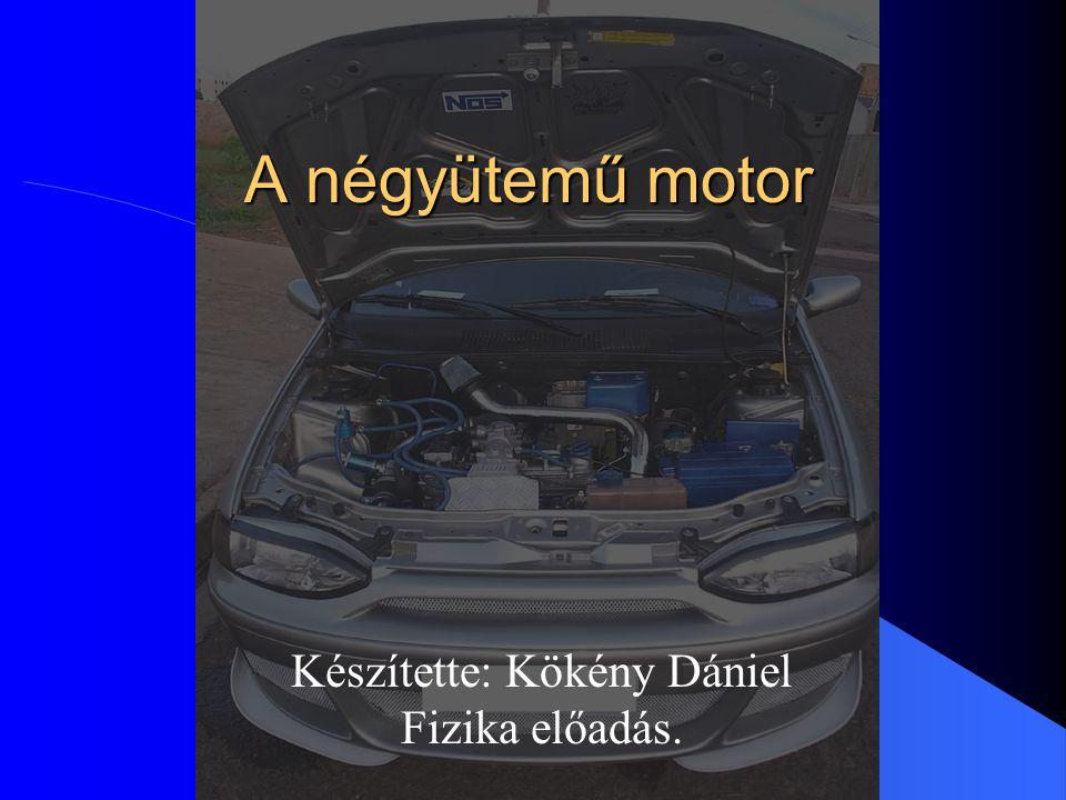 Készítette: Kökény Dániel Fizika előadás.