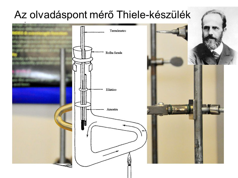 Az olvadáspont mérő Thiele-készülék