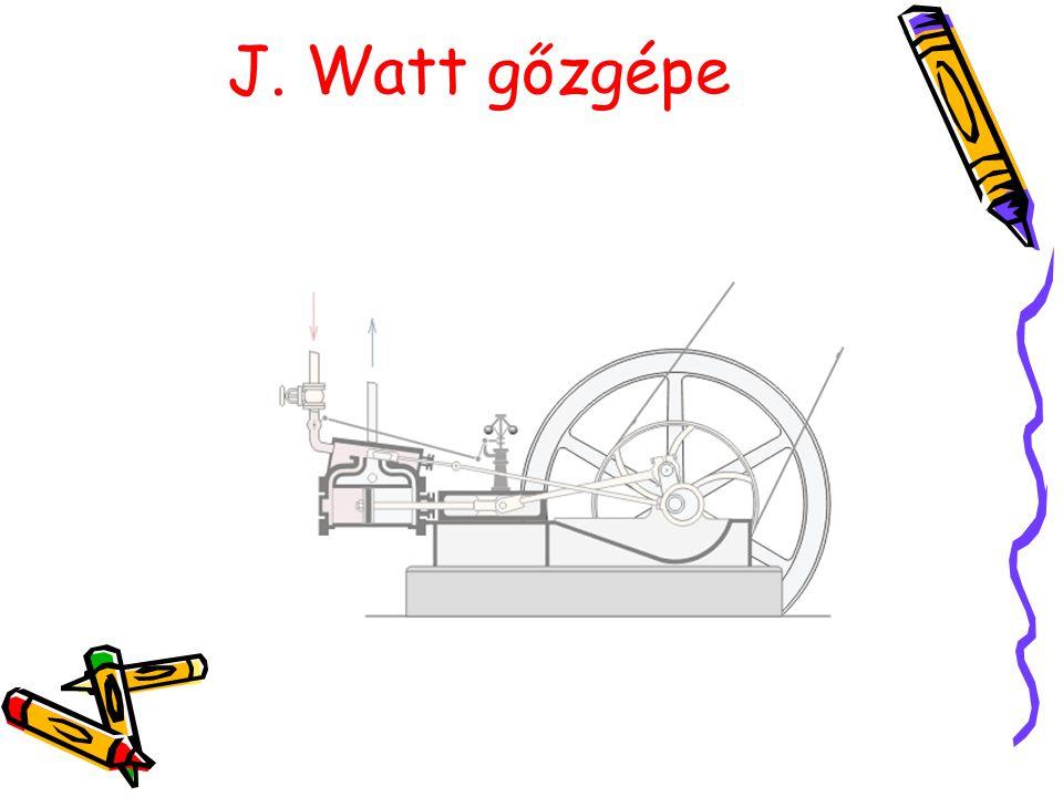 J. Watt gőzgépe