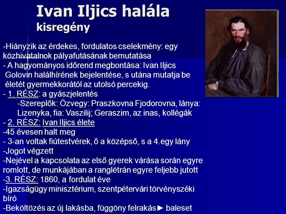Ivan Iljics halála kisregény