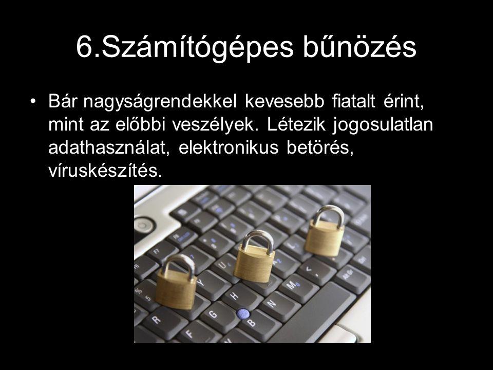 6.Számítógépes bűnözés