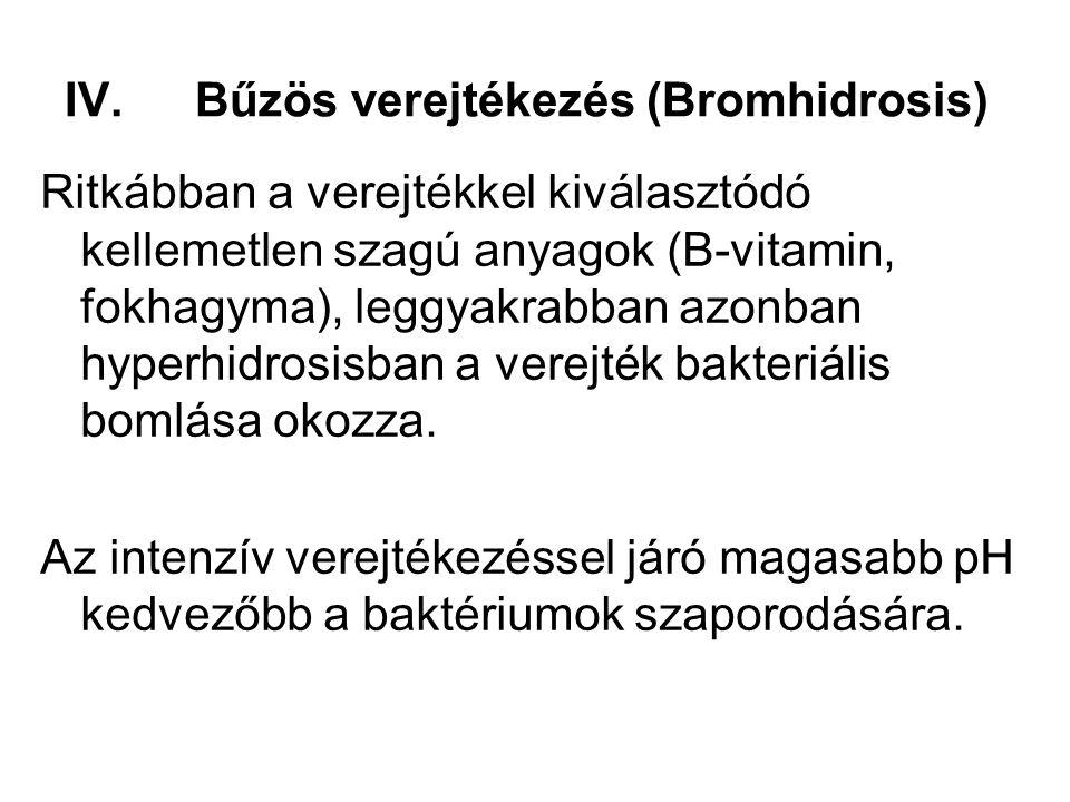 Bűzös verejtékezés (Bromhidrosis)