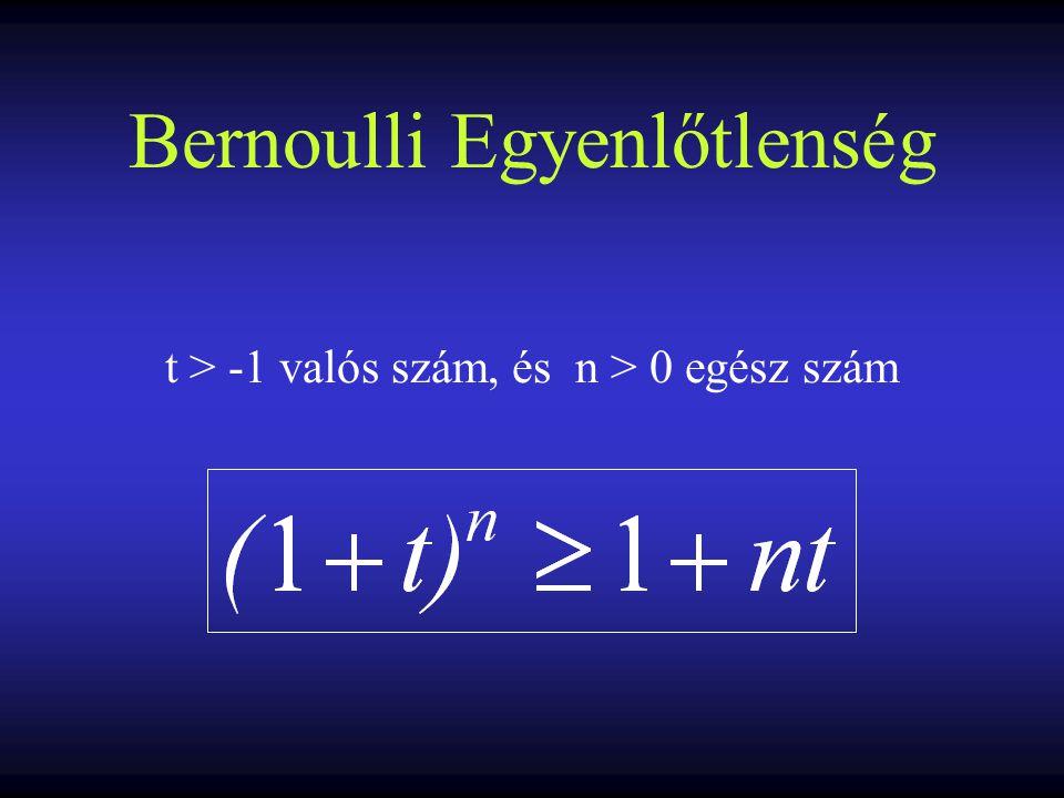 Bernoulli Egyenlőtlenség