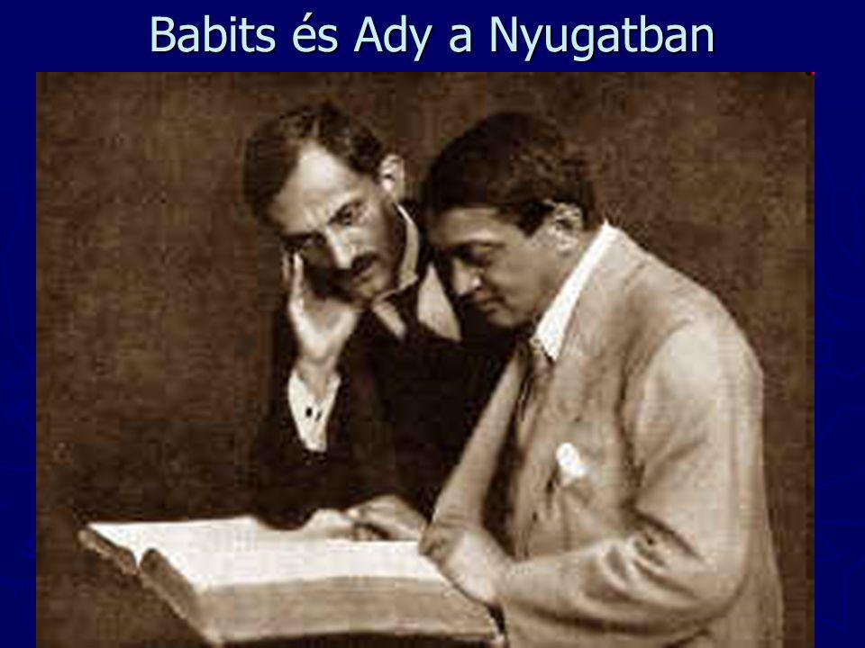 Babits és Ady a Nyugatban