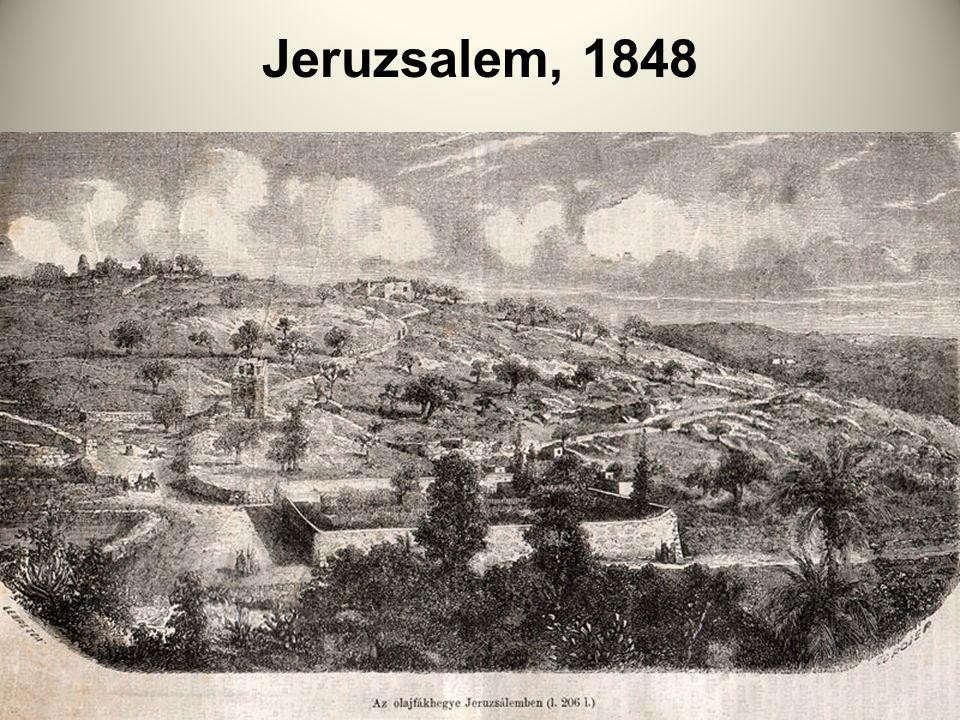 Jeruzsalem, 1848