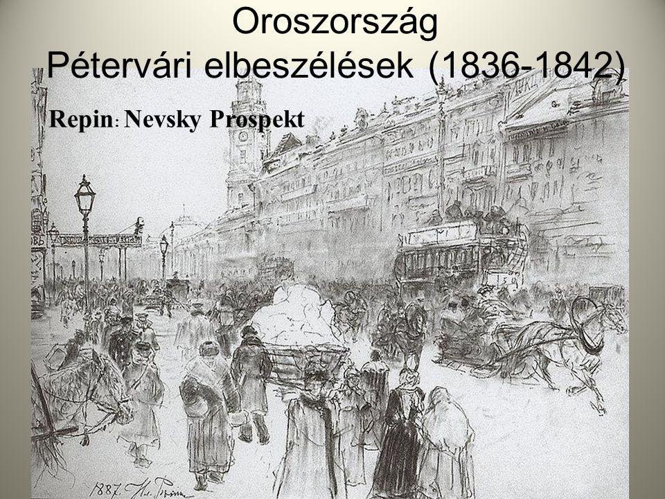 Oroszország Pétervári elbeszélések (1836-1842)