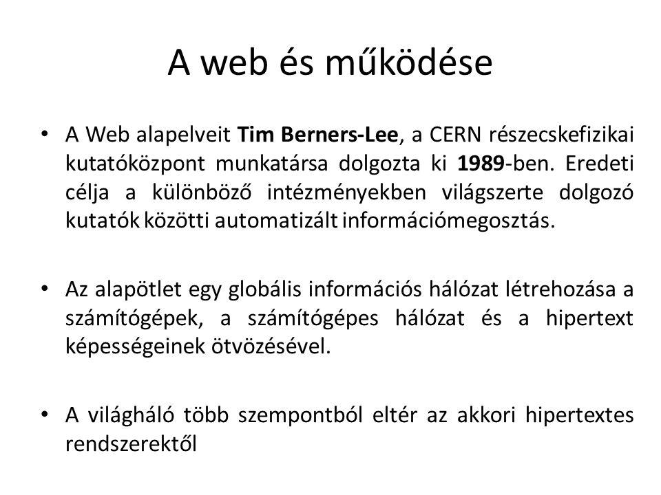 A web és működése