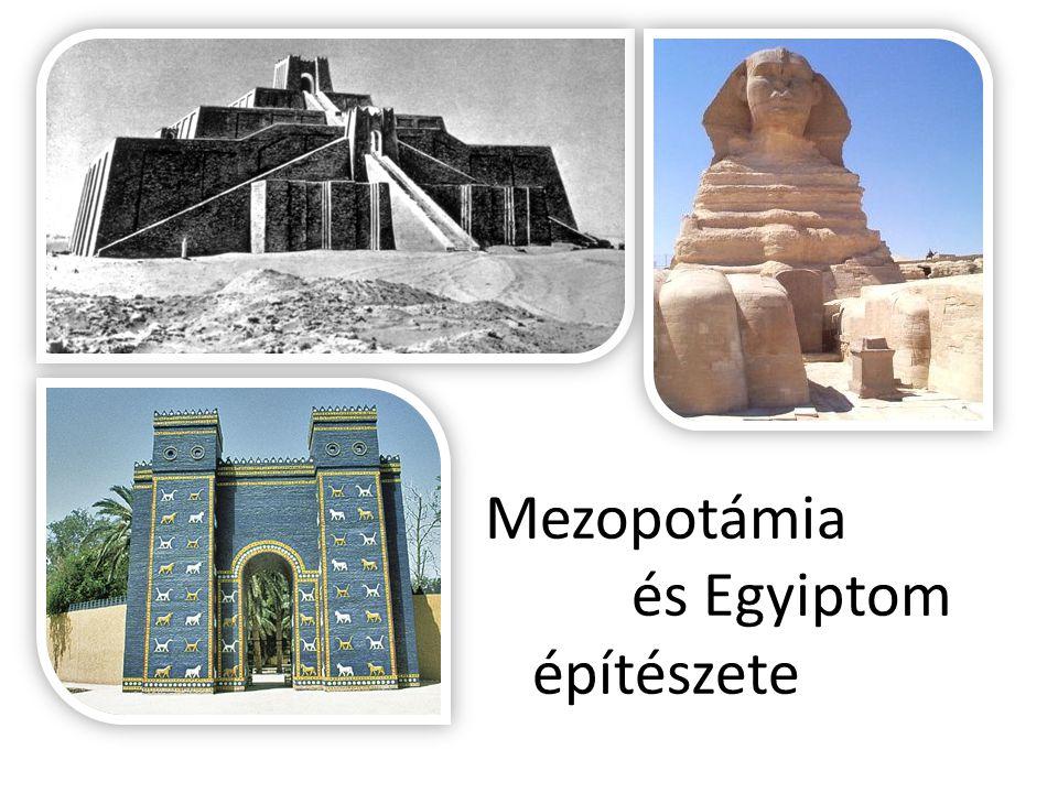 Mezopotámia és Egyiptom építészete