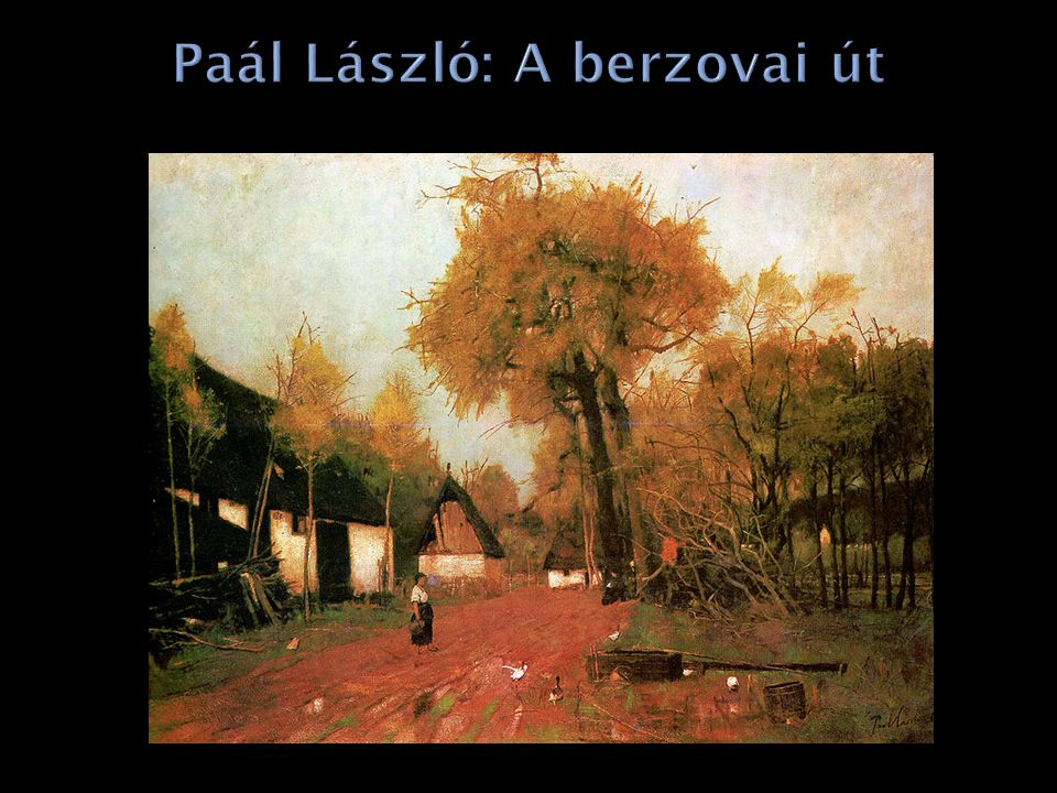 Paál László: A berzovai út