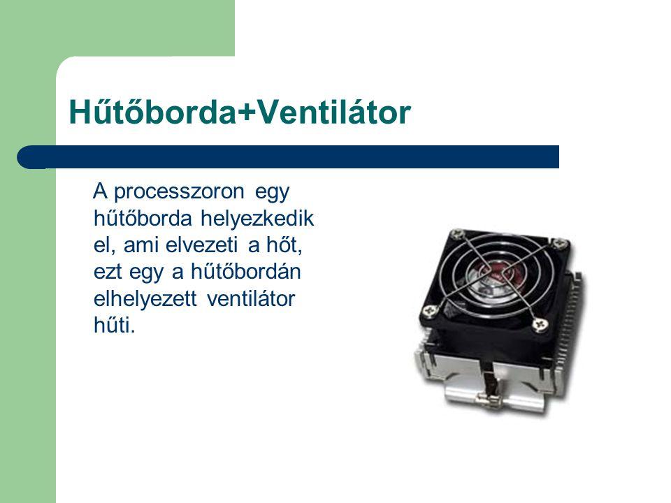 Hűtőborda+Ventilátor