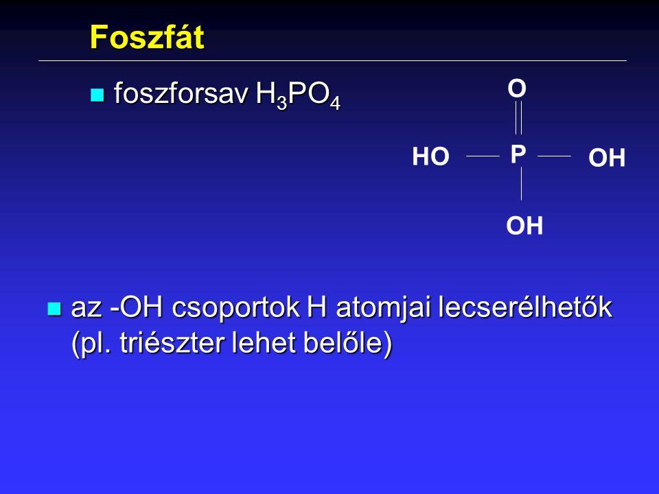 Foszfát foszforsav H3PO4