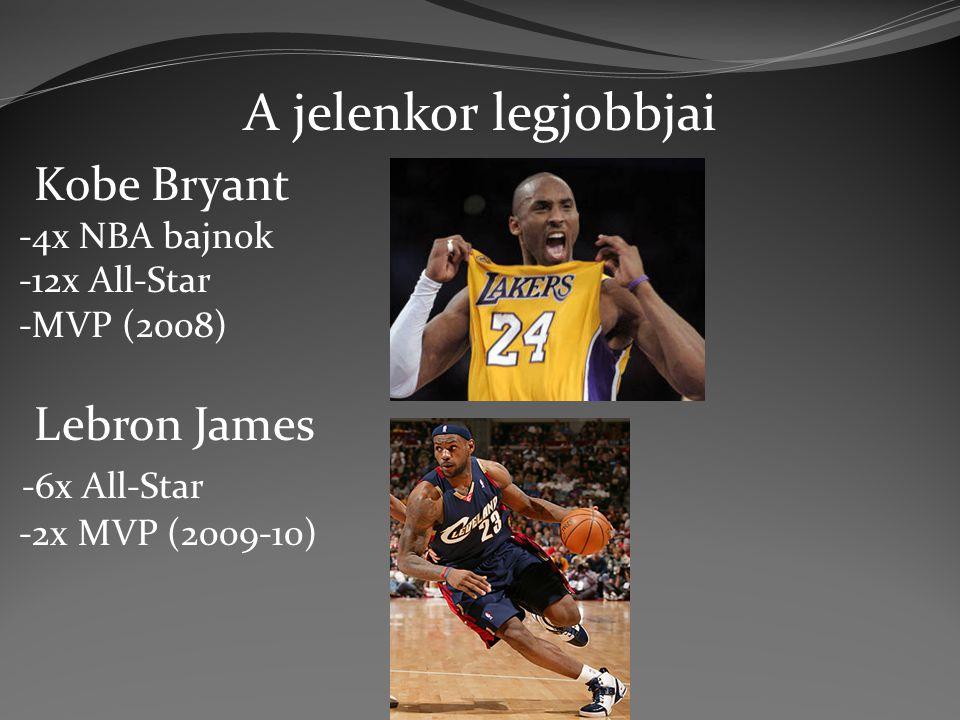 A jelenkor legjobbjai Kobe Bryant Lebron James -6x All-Star