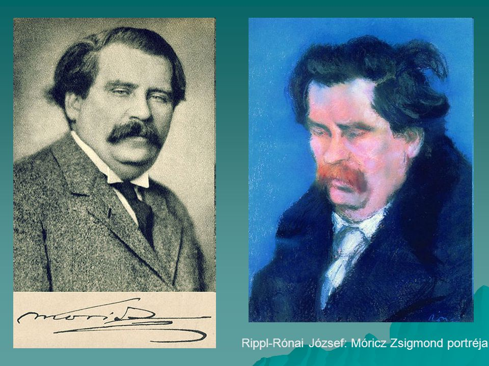 Rippl-Rónai József: Móricz Zsigmond portréja