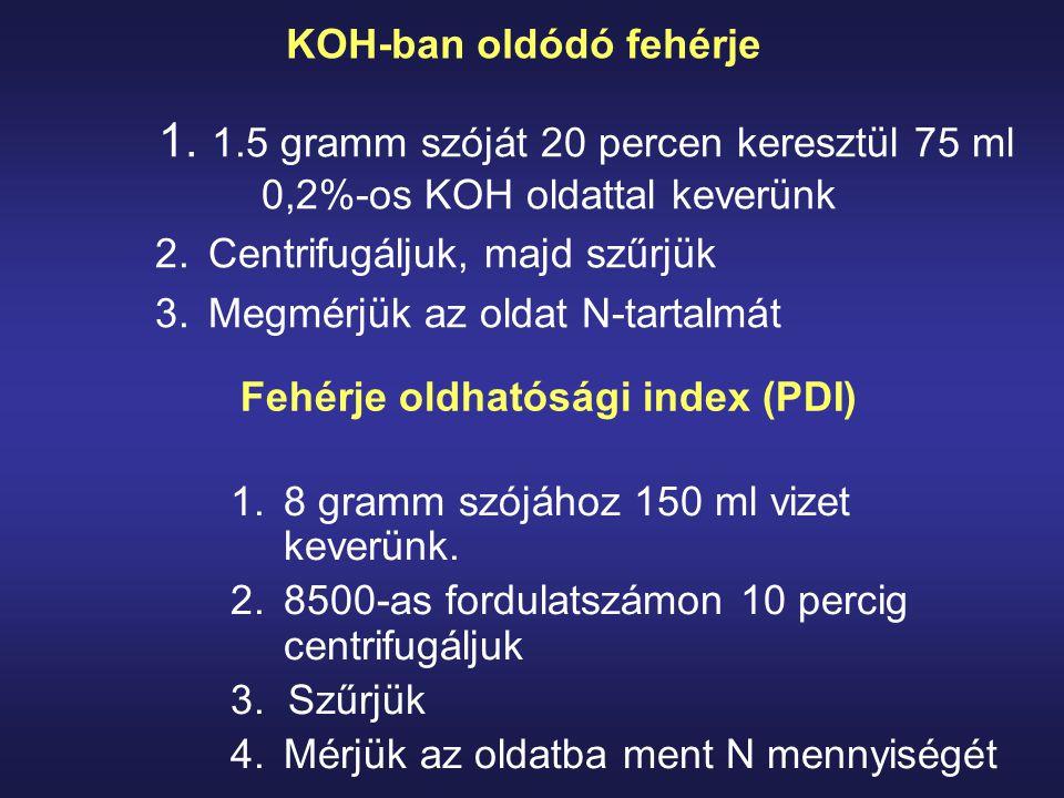 KOH-ban oldódó fehérje