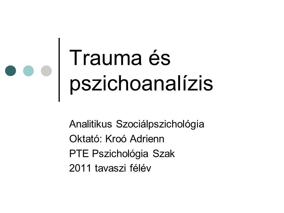 Trauma és pszichoanalízis