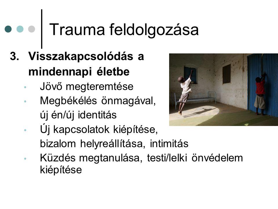 Trauma feldolgozása 3. Visszakapcsolódás a mindennapi életbe